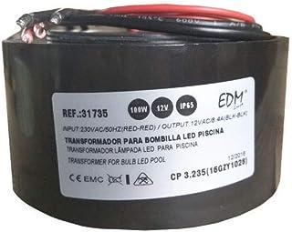 TRANSFORMADOR 100W AC12V IP65 PARA BOMBILLA LED PISCINA