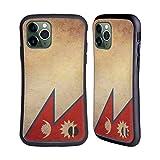 Head Case Designs Nepal Nepalesisch Vintage Fahnen 4 Hybride Huelle kompatibel mit iPhone 11 Pro