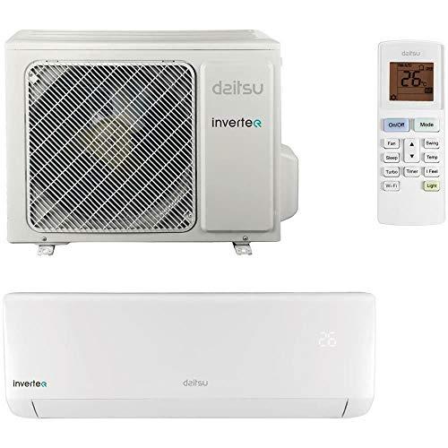 Daitsu CONDIZIONATORE CLIMATIZZATORE DS-12KIDB 12000 Split Parete R32 Inverter