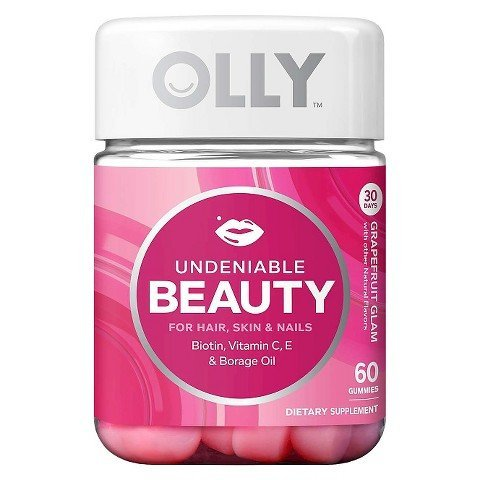 Olly Undeniable Beauty Grapefruit Glam Vitamin TRG
