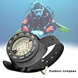 Tauchkompass, High Precision Professional Wrist wasserdichter Kompass 50 M / 164 Fuß Outdoor...