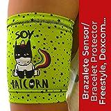 IKOOKI Abbott Freestyle Libre - Dexcom G4 G5 G6 - Guardian Sensor - Omnipod - Brazalete Protector del Sensor De Glucosa - Flexible Cómodo y Reutilizable - Color Batcornio – Talla 26