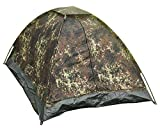 Mil-Tec Tente Igloo Standard Etanche 2 Places Camouflage Flecktarn