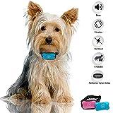 Collar antiladridos, Collar Stop Dog Barking, Sin descargas eléctricas, Collar de entrenamiento Bark Control para perros pequeños, medianos y grandes, indoloro y seguro para evitar la corteza
