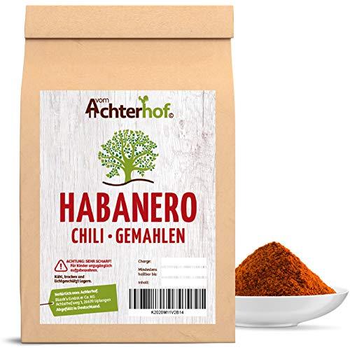 100 g Habanero Chili Pulver EXTREM SCHARF 280-300.000 Scoville Schärfegrad 10 ! Die schärfste Chili der Welt