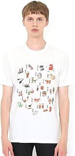 (グラニフ) graniph コラボレーション Tシャツ だるまちゃん すごろく (かこさとし) (ホワイト) メンズ レディース (g100) (g107) #おそろいコーデ (g100) (g107)