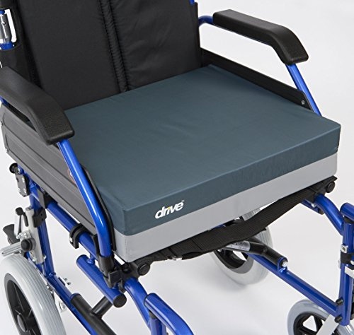 Drive Medical Extra Deep 4-Inch Gel Wheelchair Seat Cushion