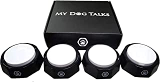My Dog Talks - Train your dog to talk | Dog buttons for communication | Dog training | Dog talking buttons | Recordable button | Talking buttons for dogs | Interactive dog learning buttons