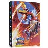 Funmo Pokemon Carte Album, Raccoglitore Porta Carte Pokemon, Album per Carte Pokemon GX, Porta Carte Pokemon Album Cartella Raccoglitore Libro 30 Pagine 240 capacità di Carte