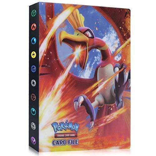 Pokemon Cartas Álbum, Álbum de Pokemon, Comercio Tarjeta Álbum, Carpeta de Titular...