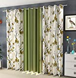 Nirwana decor Long Crush Digital Curtains , Curtains for Home , Curtains
