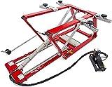 Tools by HBM Pont élévateur mobile 2500 kg 2,5 t réglable et ultra bas - Pont élévateur mobile pour voiture