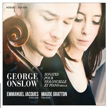 George Onslow: Sonates pour violoncelle et piano, Op. 16