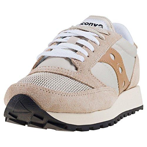 Saucony Jazz o Vintage, Sneaker Donna, Grigio (C E M/Tan 26), 36 EU