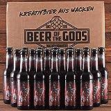 Wacken Brauerei Tyr - Pack de cervezas caseras - 18 botellas de 0,33 l de cerveza IPA de los guerreros - La cerveza de los dioses - Ganadora del World Beer Award