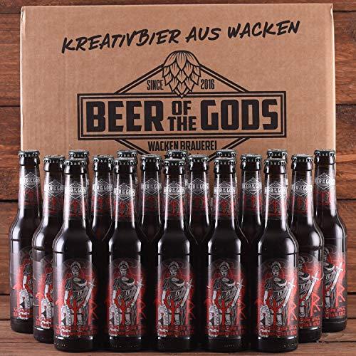 WACKEN BRAUEREI Double India Pale Ale Craft Beer Box 20 x 0,33 l Flasche | TYR | Viking Craftbeer Set Gift for Men | Wikinger Kraft Bier Geschenk für Männer | Party Festival Heavy Metal
