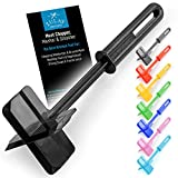 Premium Heat Resistant Meat Chopper, Masher & Smasher for Hamburger Meat, Ground Beef, Turkey & More, Hamburger Chopper Utensil, Ground Beef Chopper Tool & Meat Fork - by Zulay Kitchen