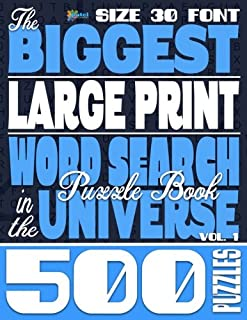 Best large print word search puzzles 4 Reviews