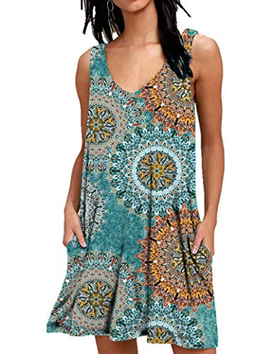 AUSELILY T-Shirt Casual Estiva da Donna Abiti da Spiaggia Copricostume...
