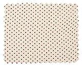 VBS Baumwoll-Stoff Punkte (Meterware) Weiß-Rot