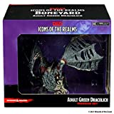 D&D Icons of The Realms Miniatures: Boneyard Booster Green Dracolich