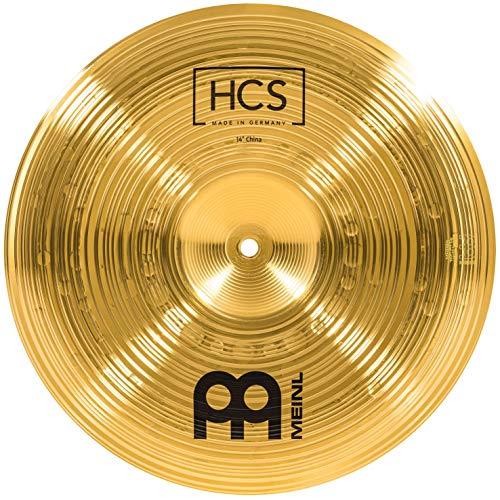 Meinl Cymbals HCS 14 Zoll (35,56cm) China Becken für Schlagzeug – Messing, traditionelles Finish (HCS14CH)