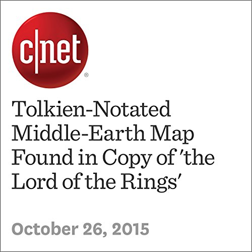 Tolkien-Notated Middle-Earth Map Found in Copy of 'the Lord of the Rings'                   By:                                                                                                                                 Amanda Kooser                               Narrated by:                                                                                                                                 Rex Anderson                      Length: 2 mins     2 ratings     Overall 1.0