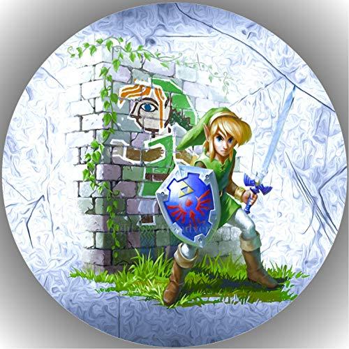 Fondant Tortenaufleger Tortenbild Geburtstag Die Legende von Zelda AMA15