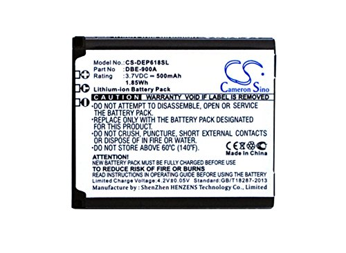 Cameron Sino Replacement Battery Compatible with Doro PhoneEasy Model 618 Part DBE-900A