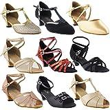 GP 50 Shades of Low Kitten Heel Dance Dress Shoes: 6006 Tan PU,1.3' Heel, Size 7 1/2