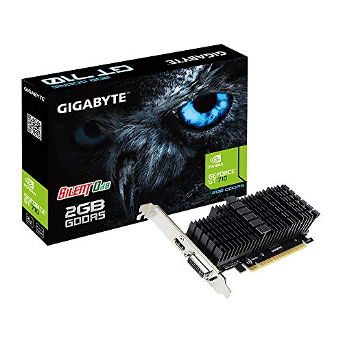 Gigabyte GeForce GT 710 Silent Low Profile 2G GDDR5