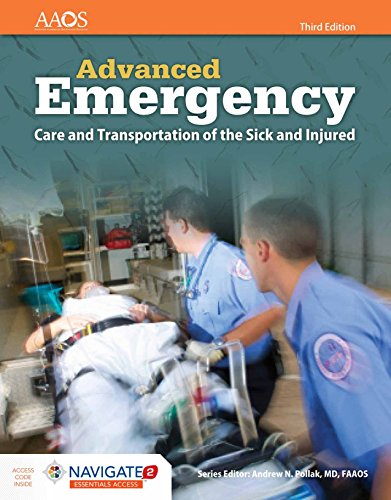 Compare Textbook Prices for AEMT: Advanced Emergency Care and Transportation of the Sick and Injured Orange 3 Edition ISBN 9781284136562 by American Academy of Orthopaedic Surgeons (AAOS)