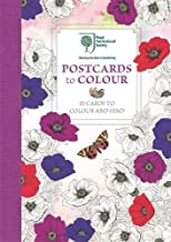 The Royal Horticultural Society Postcards to Colour: 20 Cards to Colour and Send