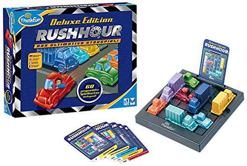 ThinkFun 11212 - Lernspiel - Rush Hour Deluxe