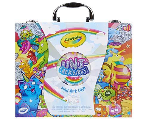 Crayola Mini Art Set with UniCreatures, Kids Art Kit, 100+ Pieces, Ages 3, 4, 5, 6, 7