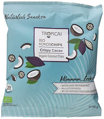 Tropicai Bio-Kokoschips Vorteilspack Crispy Cacao, 500 g