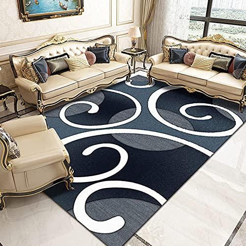 Remolinos Moderna Abstracta Moderno Remiendo geométrico Polipropileno Área Interior Alfombra de Alfombra, alfombras de Cocina no derramar Manchas Resistentes a la Sala de Estar Dormitorio