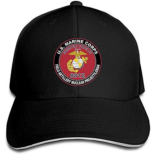 GodYo USMC MOS 0812 - Gorra de béisbol ajustable, diseño d