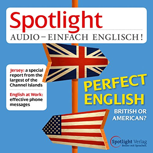 Spotlight Audio - British or American. 11/2014 Titelbild