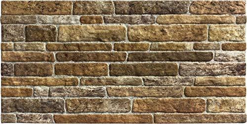 Wandverkleidung in Steinoptik für Schlafzimmer, Wohnzimmer, Küche und Terrasse in Klinkeroptik Look. (ST 255)