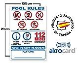 Pool Warnschild Test