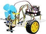 Miwaimao Micro: Bit Roboter, Fernbedienung, Codierung, Lernset, intelligentes DIY-Spielzeug, Auto mit Ultraschall-Gimbal a
