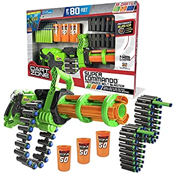Dart Zone Super Commando Scorpion Blaster ,18-round ammo belts