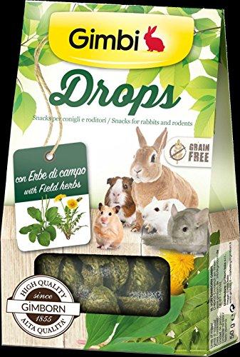 Drops mit Kräuter-Bereich Snack für Nager ohne Getreide 50g