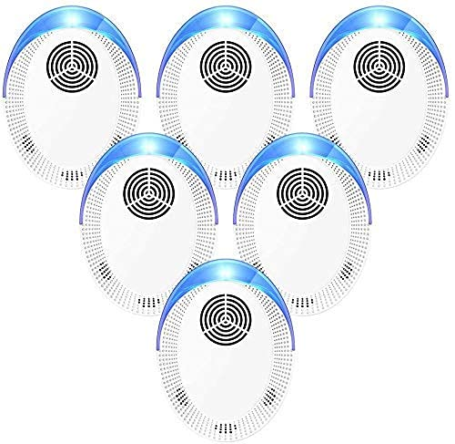 Bocianelli Ultrasonic Pest Repeller Electronic Plug in Indoor Pest Repellent, Pest Control for Home, Office, Warehouse, Hotel