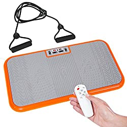 Recreates the effects of walking, jogging and running- on the spot! Multi-Directional, oscillating vibration Targets all areas of the body Simple, easy workout functions Helps you protect your joints and bones with no jarring
