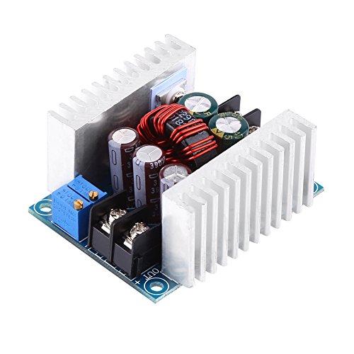 Módulo reductor de potencia, 2 disipadores de calor para mejorar la disipación del calor Módulo convertidor CC-CC para Buck para electrónica para ajustar la corriente de salida
