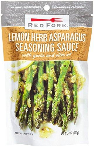 Red Fork Asparagus, Lemon Herb Sauce, 2 pk