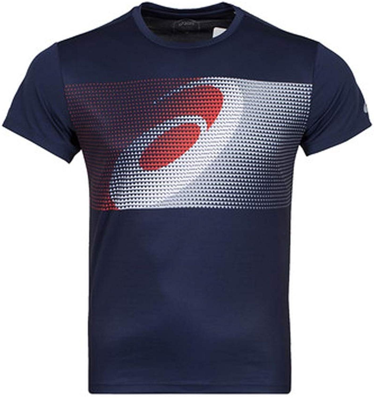 GAIXIA TShirt Men's Summer Sports ShortSleeved Running Training Suit Breathable SweatProof Casual Half Sleeve Basketball tShirt (color   C, Size   M)