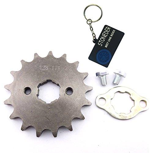 STONEDER 428 17 dientes 20 mm cadena delantera engranaje para 50 cc 70 cc 90 cc 110 cc 125 cc 140 cc 150 cc 160 cc motor ATV Pit Dirt Trail Bike